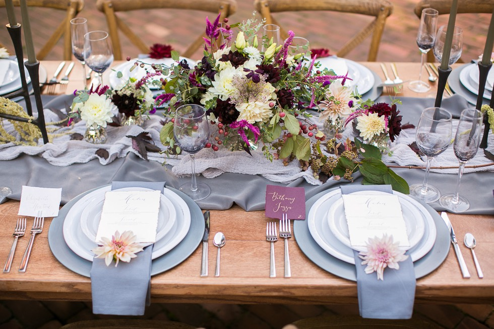 styled wedding table