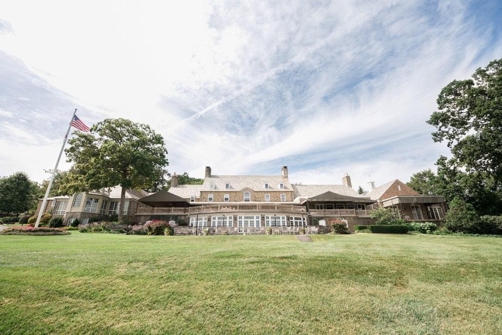 Huntingdon Valley Country Club lawn