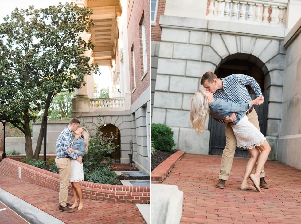Maryland State House engagement photos
