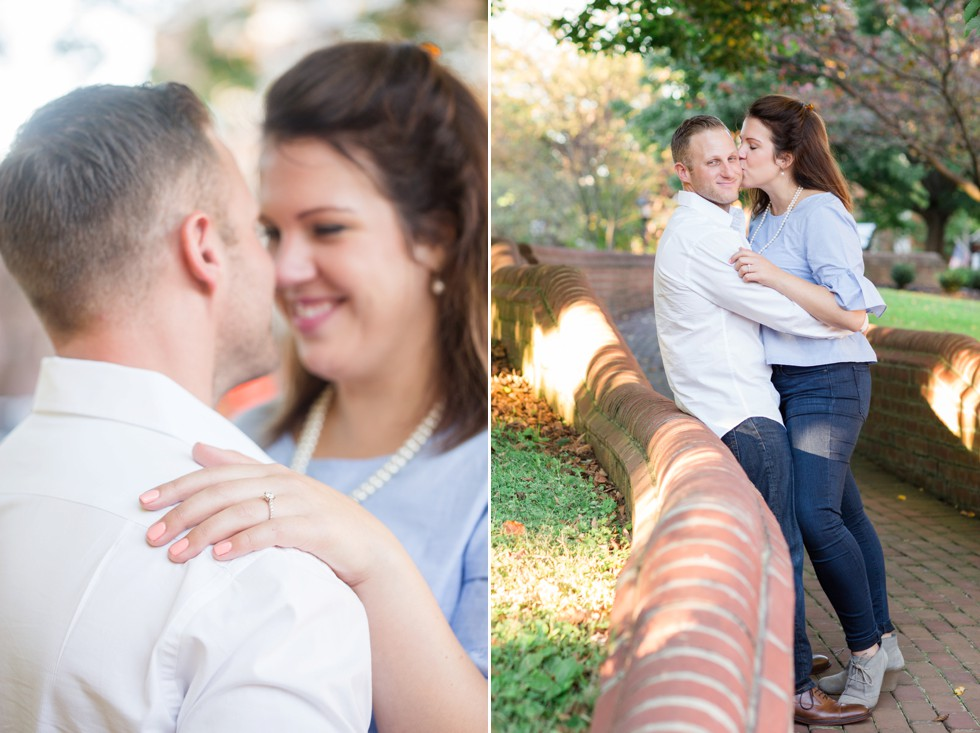 State House Engagement Photos in the fall