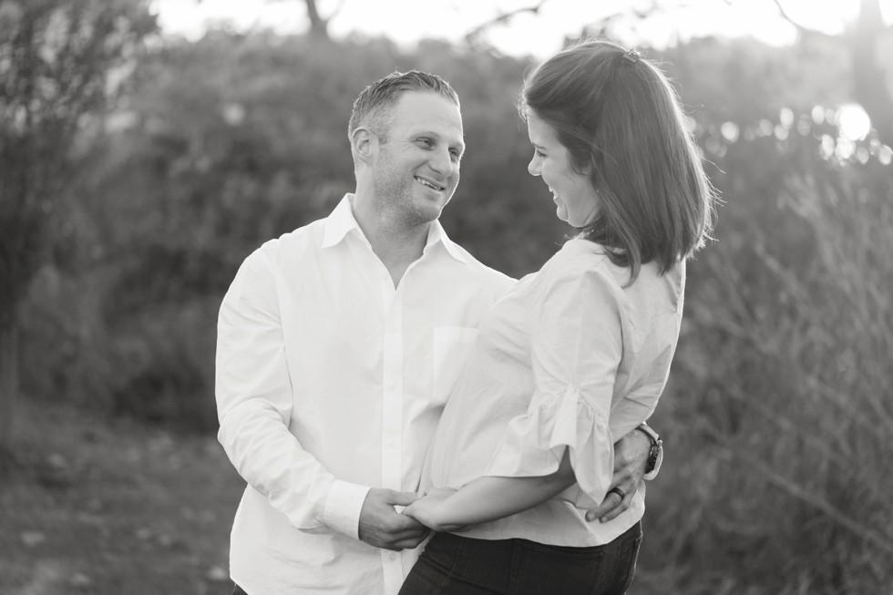 Jonas Green Beach Fall Engagement photos