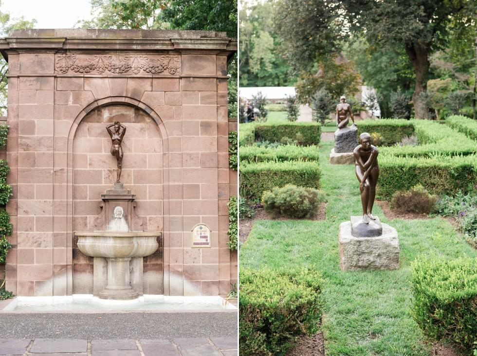 garden sculptures in Tyler Gardens