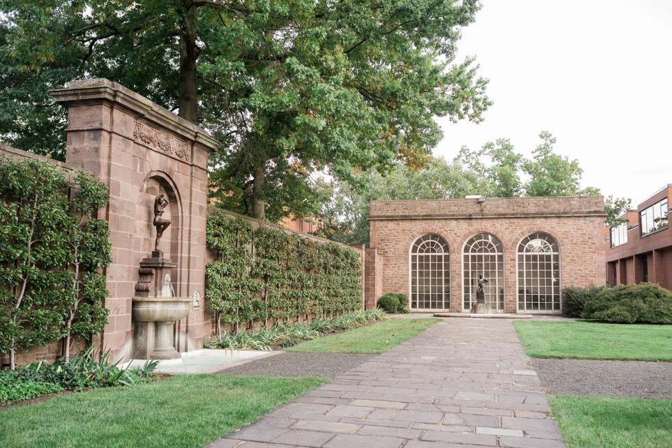 Tyler Gardens outdoor ceremony spot