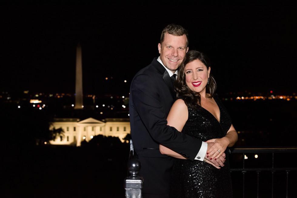 Whitehouse night photo
