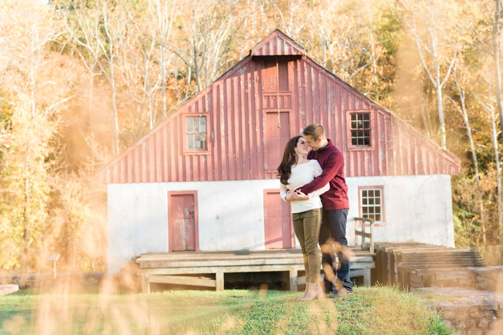 Bowman's Hill Wildflower Preserve Engagement photography
