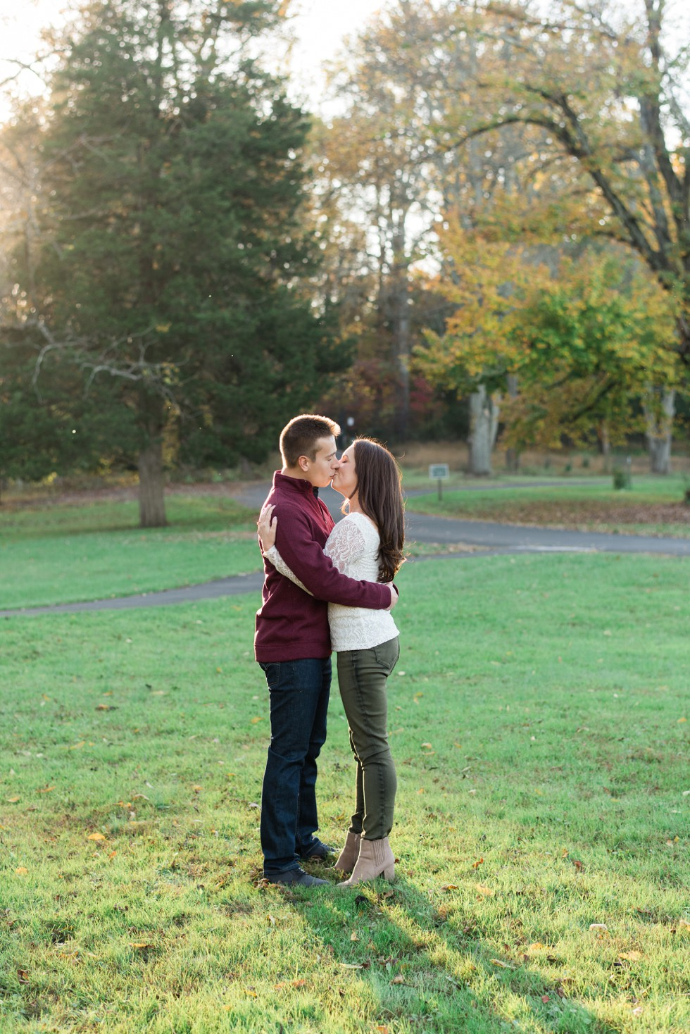 New Hope Fall engagement photos