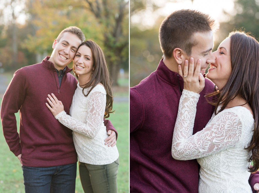 Philadelphia Fall engagement photos