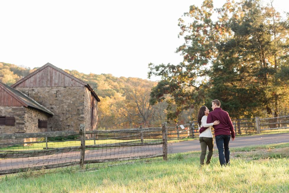 Fall engagement at Thompson-Neely House