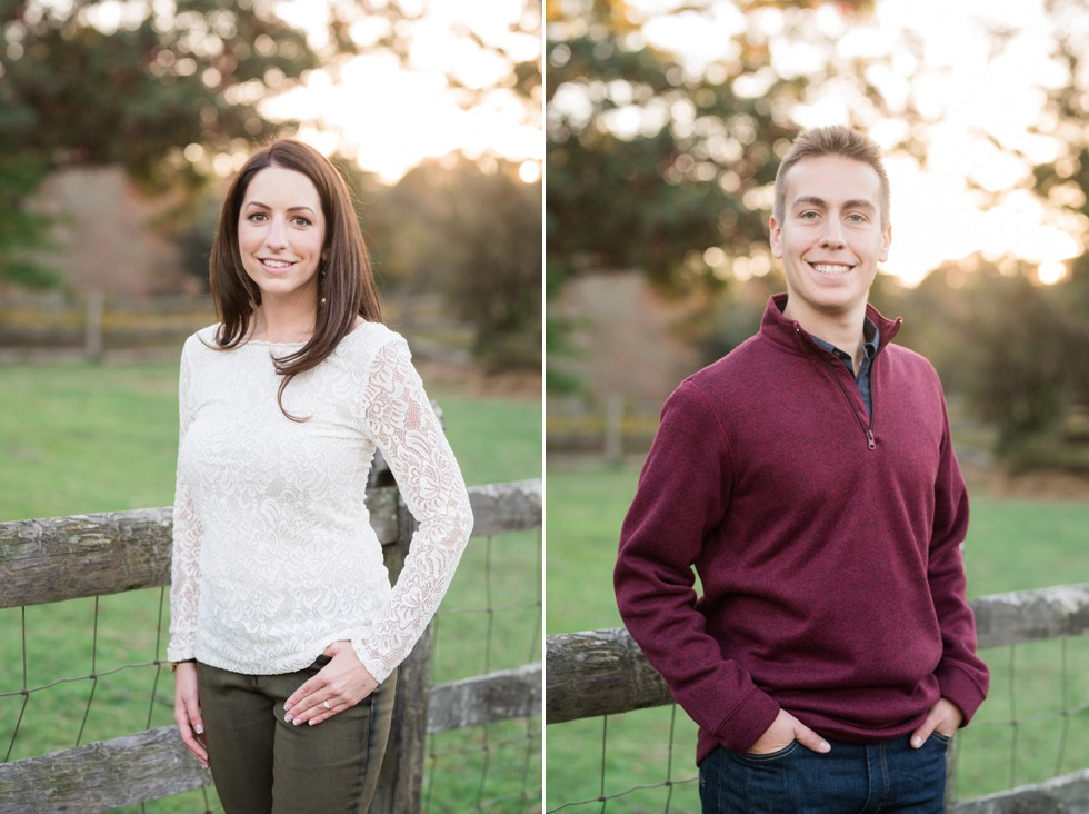 Fall head shots in New Hope PA