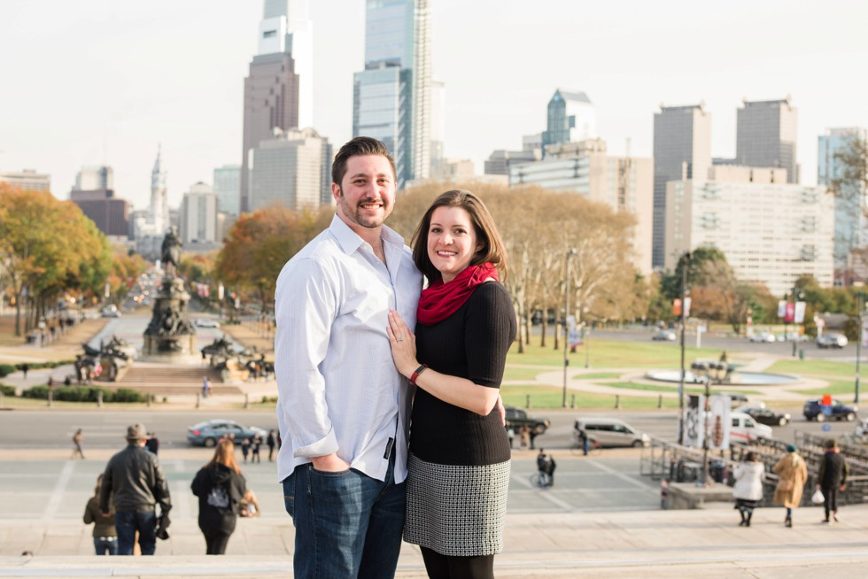 Philadelphia skyline proposal photo