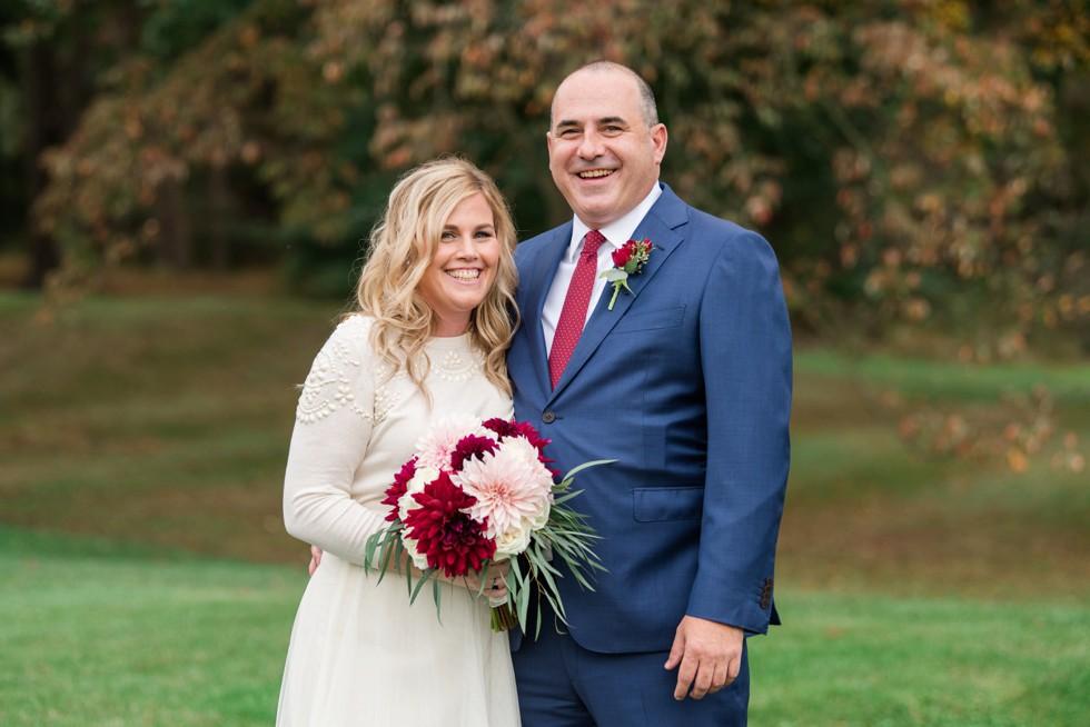 Fall wedding at Sunnybrook Golf Club