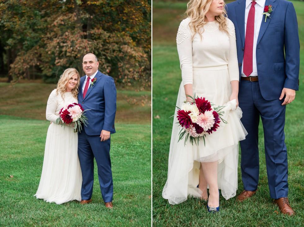 Sunnybrook Golf club wedding portraits of bride and groom