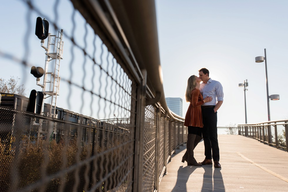 Schuylkill River trail engagement photos