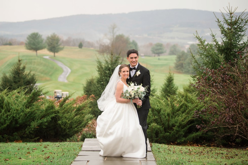 Pennsylvania Winter mountain wedding