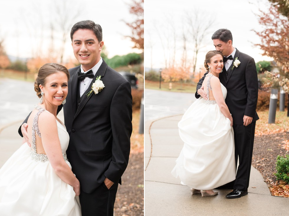 fall mountain wedding in Frederick