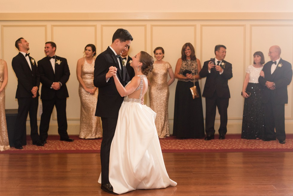 Musket Ridge Golf Club wedding first dance