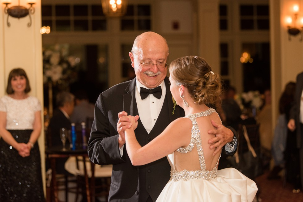 Father of the bride dance at Musket Ridge Golf Club