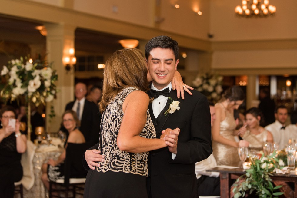 Mother of the groom dance at Musket Ridge Golf Club