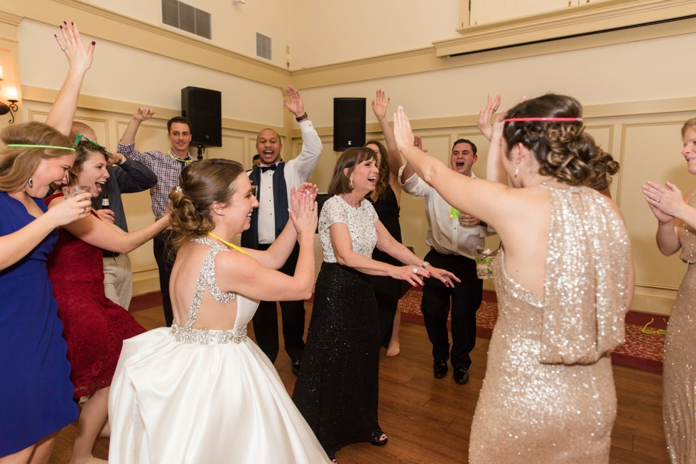 Musket Ridge Golf Club mountain wedding reception dance photos