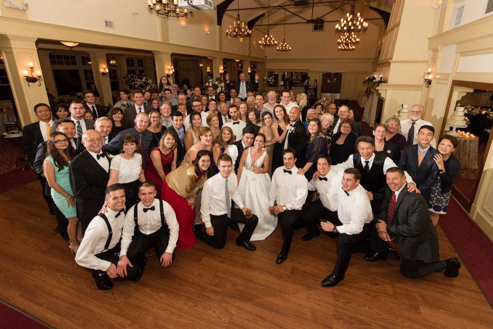 Musket Ridge Golf Club mountain wedding group photos