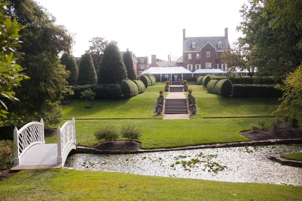 william paca house and garden wedding