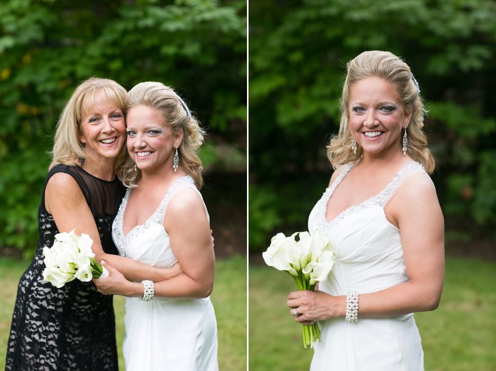 garden elopement mother daughter photo