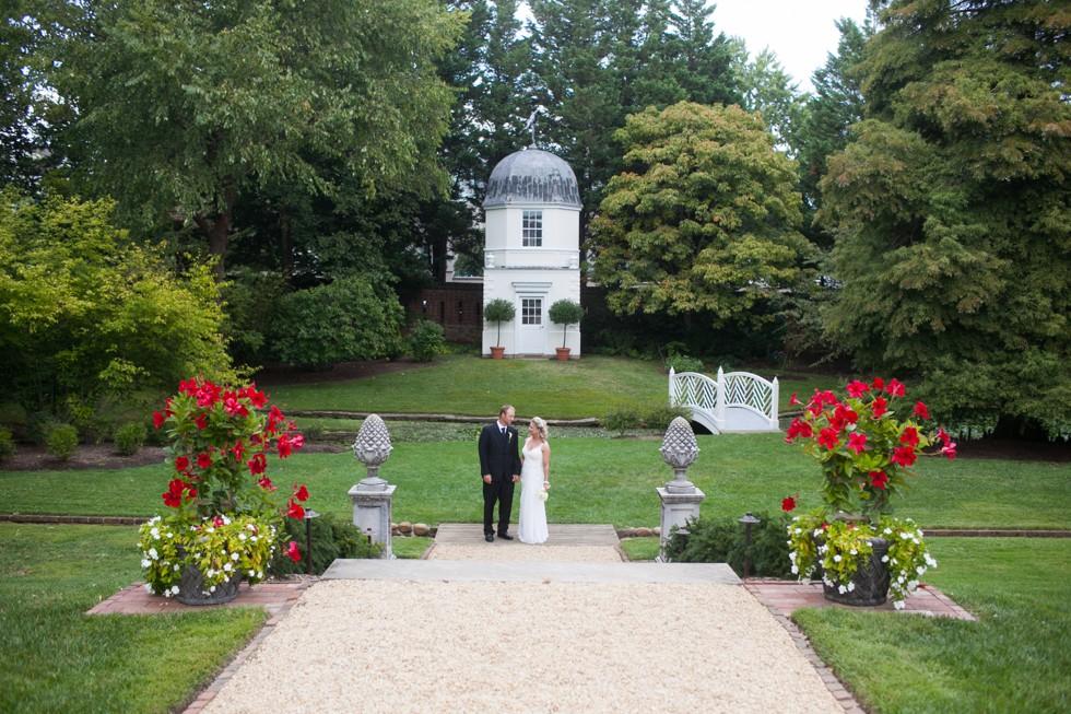 paca house and garden elopement portraits