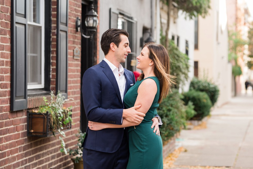 Fitler Square Philadelphia engagement session
