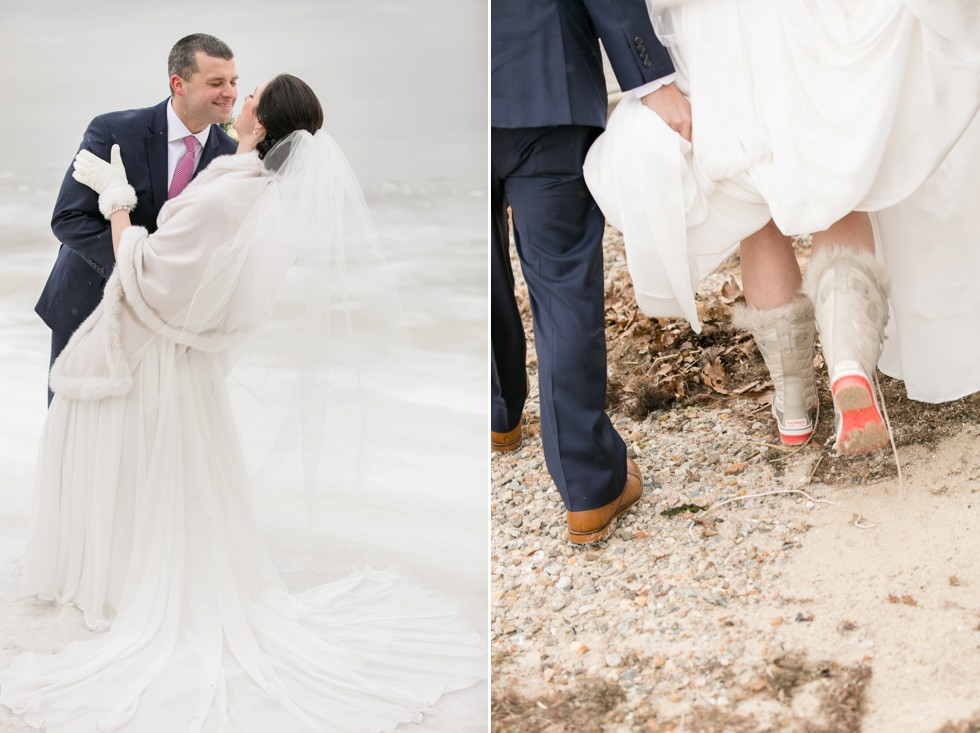 bridal snow boots Cape Cod
