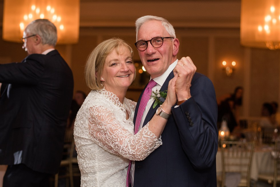 New Seabury Country Club parents dancing