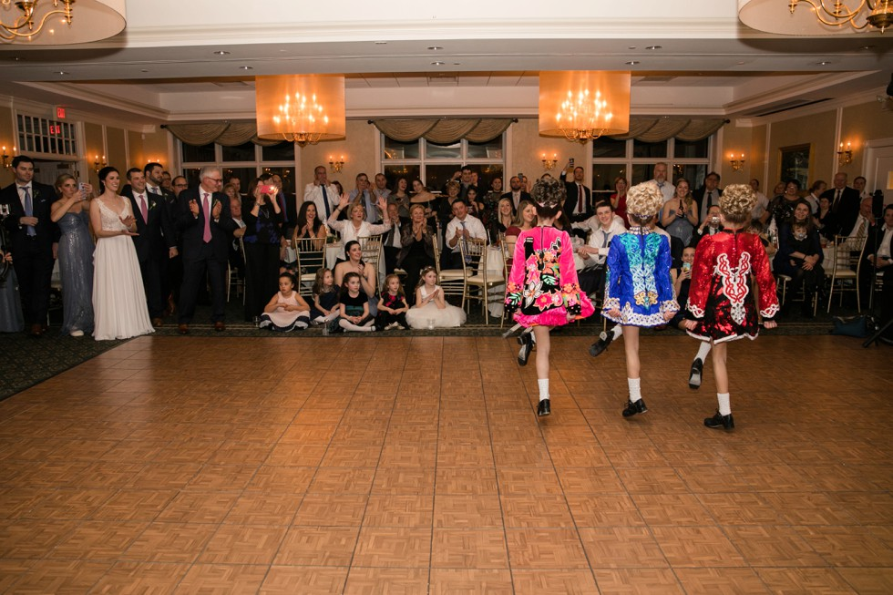 Kanaley School of Irish Dance wedding showcase