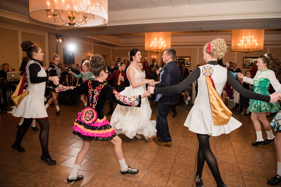 Kanaley School of Irish Dance wedding performance