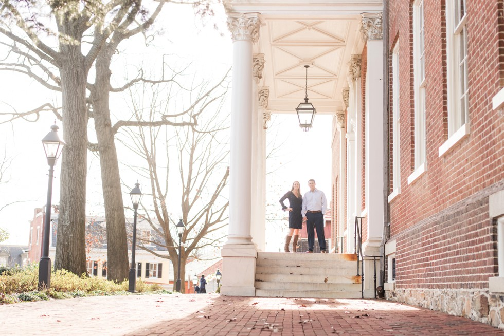 state house engagement photo