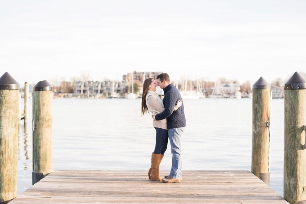 chesapeake bay engagement photos