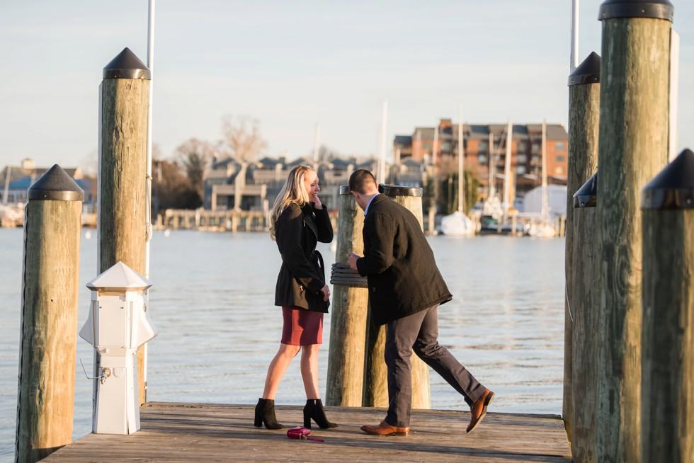 proposal photos in Annapolis