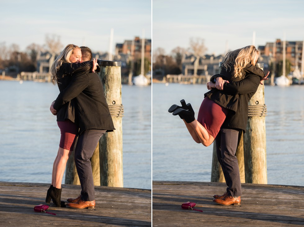 she said yes Annapolis proposal
