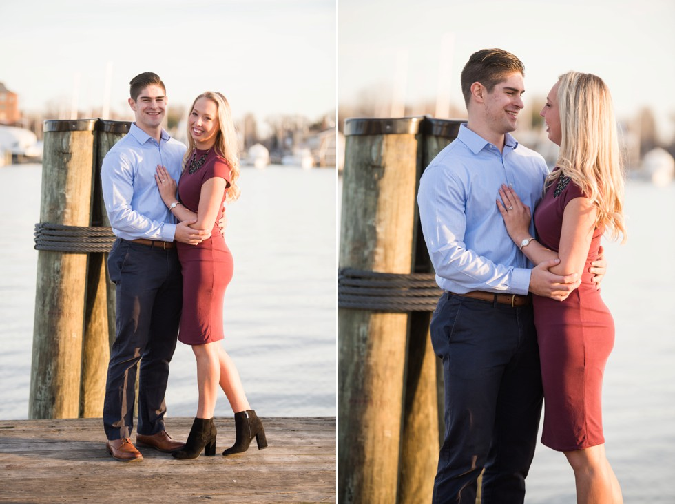 proposal photographs in Annapolis Maryland