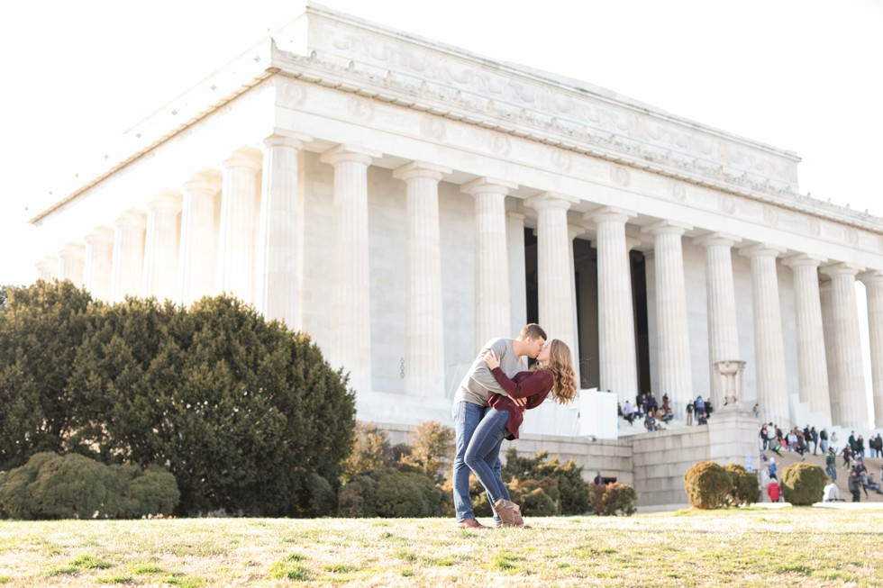 Lincoln Memorial marriage proposal