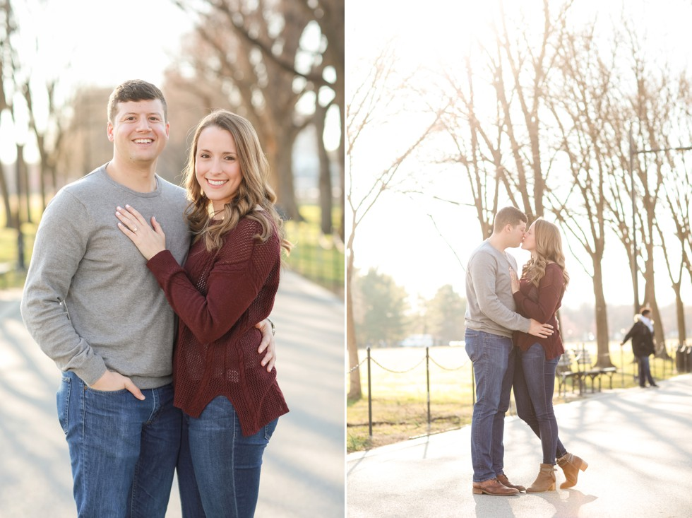 DC engagement photographers
