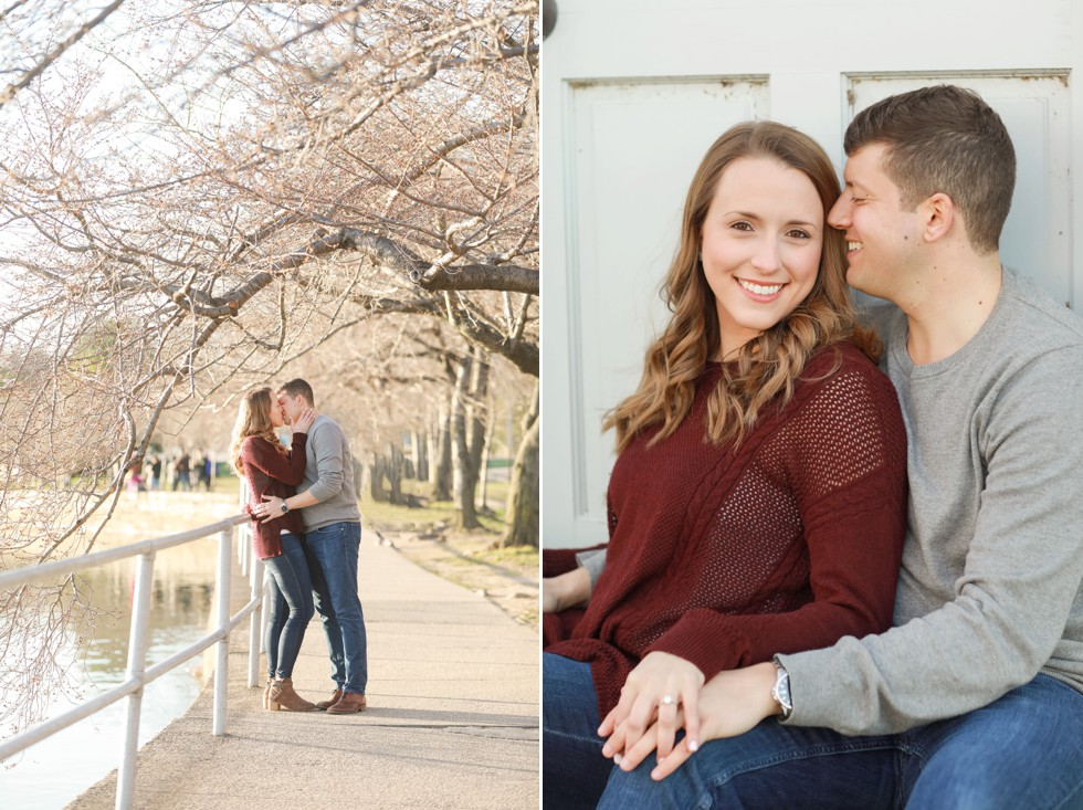 Tidal Basin engagement photos in DC