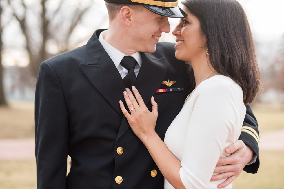 Radford Terrace US Naval Academy Engagement