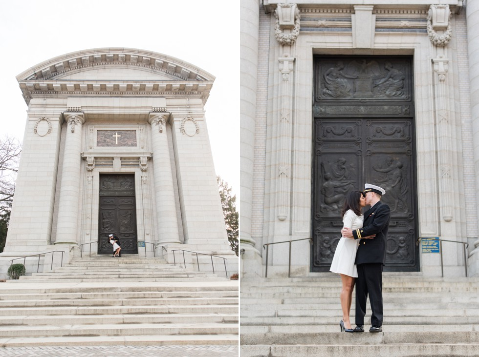 US Naval Academy Chapel Engagement