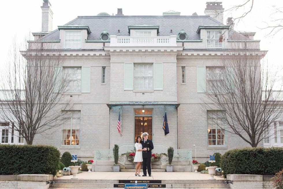 US Naval Academy Superintendent's Garden Engagement
