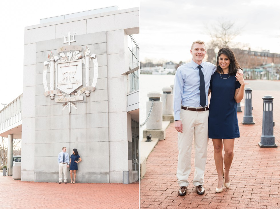 Naval Academy engagement photos