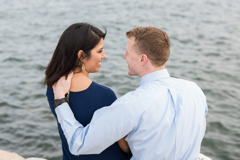 Annapolis rock wall engagement