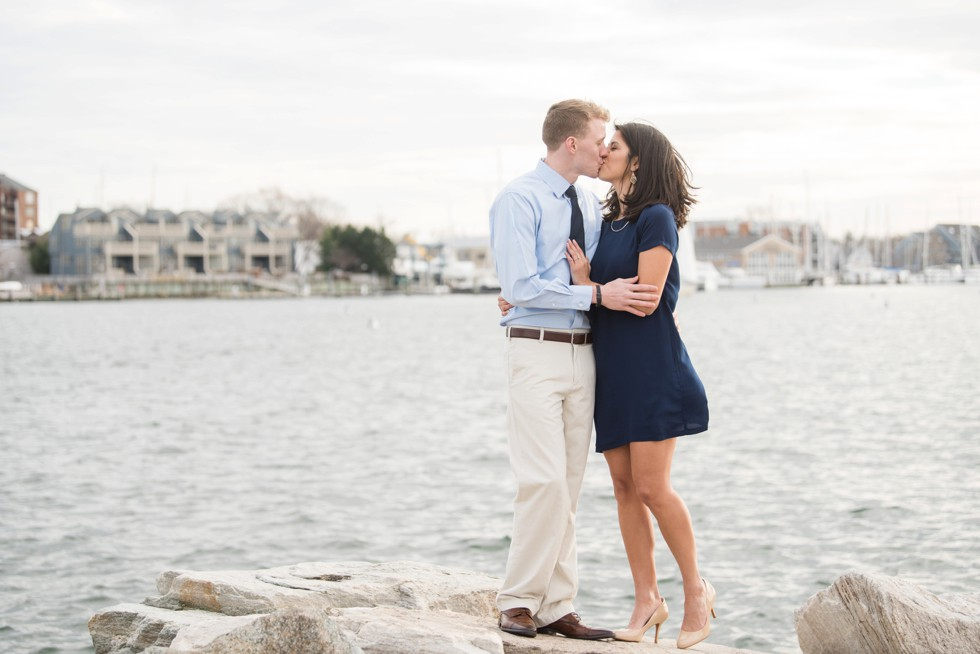 Annapolis Yacht club engagement