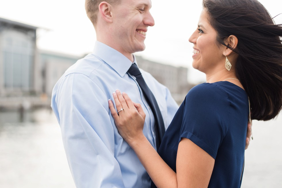 US Naval Academy Santee Basin engagement photos