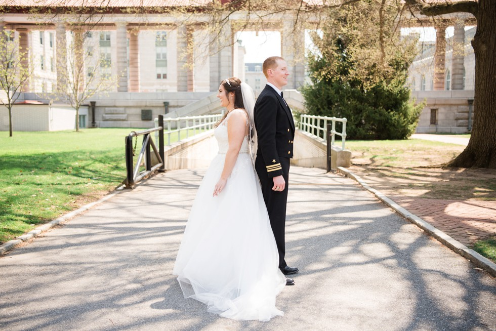 United States Naval Academy Spring Wedding - Maggie Sottero
