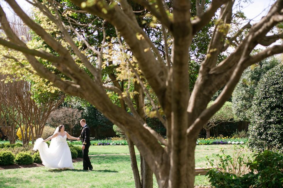 Superintendent's Garden Buchanan House US Naval Academy wedding