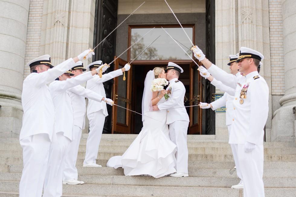 Sword Arch US Naval Academy Chapel